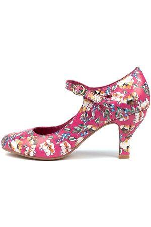 I LOVE BILLY Mendy Fuchsia Freesia Shoes Womens Shoes Dress Heeled Shoes