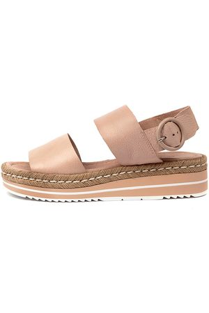 Django & Juliette Women Sandals - Atha Rose Sandals Womens Shoes Casual Sandals Flat Sandals