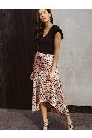 Forever New Andrea Asymmetrical Split Skirt
