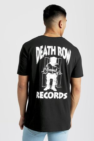 Boohoo Mens Death Row Records Oversized T-Shirt