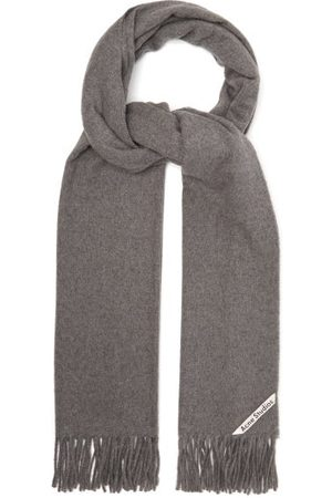 Acne Studios Canada Fringed Cashmere Scarf - Womens