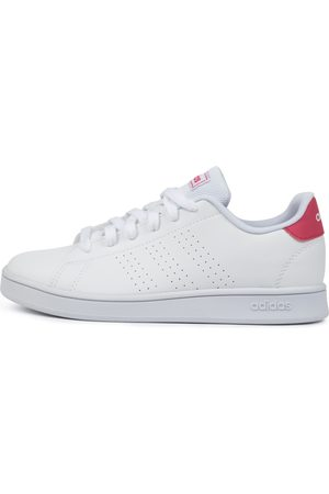 adidas Girls Casual Shoes - Advantage K Jnr Shoes Girls Shoes Casual Flat Shoes