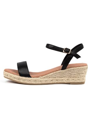 Django & Juliette Shielay Dj Sandals Womens Shoes Casual Heeled Sandals
