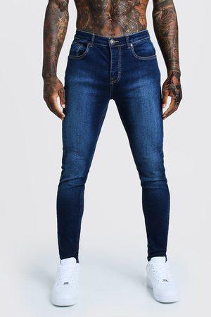 Boohoo Mens Mid Skinny Fit Denim Jeans