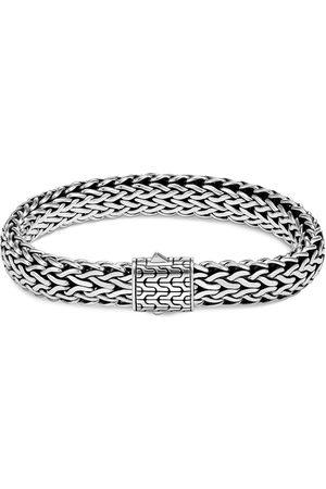 John Hardy Classic Chain' silver woven bracelet