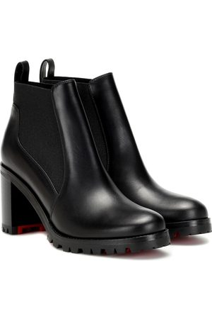 Christian Louboutin Marchacroche 70 leather ankle boots