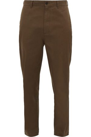 Raey Tapered Cotton Chino Trousers - Mens