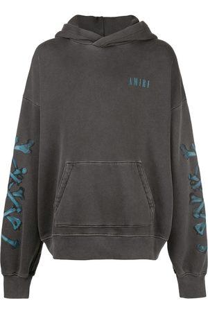 AMIRI Oversized logo print hoodie