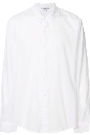 James Perse Men Shirts - Buttoned cotton shirt
