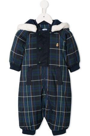 Familiar Plaid pattern snowsuit