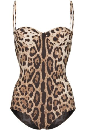 Dolce & Gabbana Leopard print one-piece swimsuit