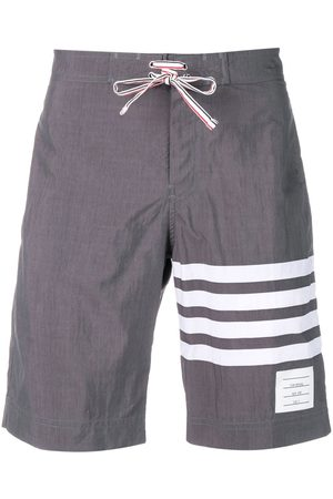 Thom Browne 4-bar Swim Tech Board Short