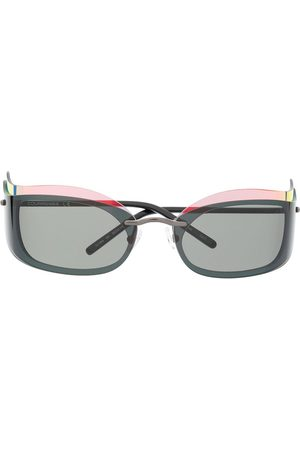 COURRÈGES EYEWEAR Layered-look square-frame sunglasses