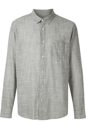 OSKLEN Chest pocket checked shirt