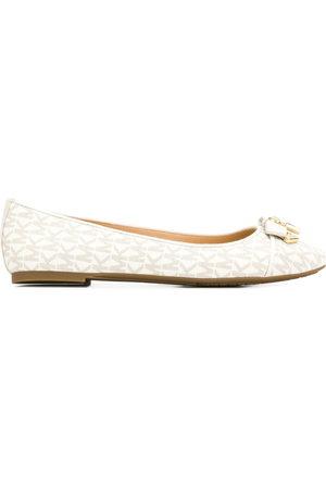 Michael Kors Monogram ballerina shoes