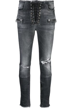 Unravel Project Distressed skinny jeans