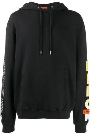 Heron Preston Men Hoodies - Flame face hoodie