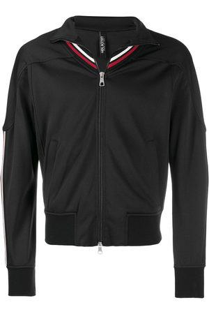 Neil Barrett Striped-detail zip-up jacket