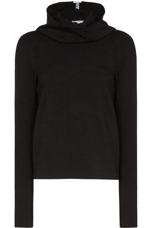 Paco rabanne Logo stripe hoodie