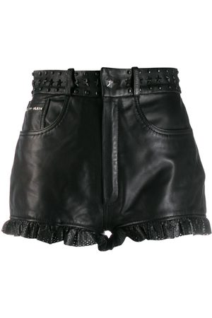 Philipp Plein Laser cut shorts
