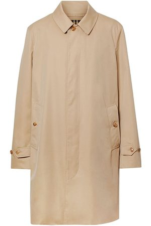 Burberry Men Trench Coats - Cotton Gabardine Car Coat