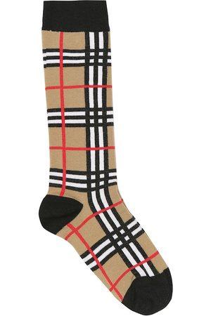 Burberry Vintage Check cotton-blend socks