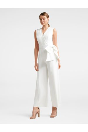 Forever New Viola Sleeveless Tux Bow Jumpsuit