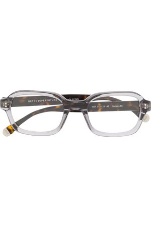 Retrosuperfuture Contrast square glasses