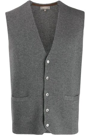 N.PEAL Cashmere Carnaby knitted vest