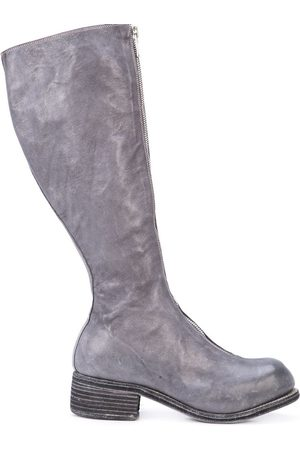 GUIDI Front zip knee-high boots