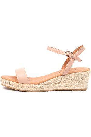 Django & Juliette Shielay Dj Rose Sandals Womens Shoes Casual Heeled Sandals